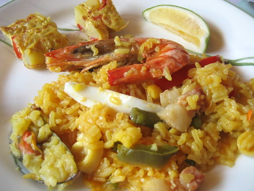 dad's paella 2