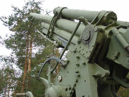 Anti-aircraft cannon