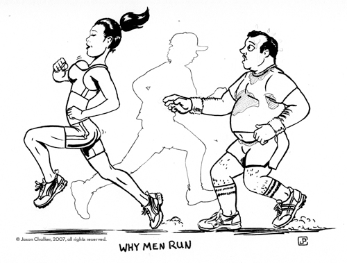Why Men Run...