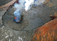 El volcán Kilauea