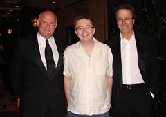 EMI Execs Eric Nicoli, Barney Wragg, Roger Ames