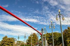 (jen.ivana) Tags: lamp street park water red green blue