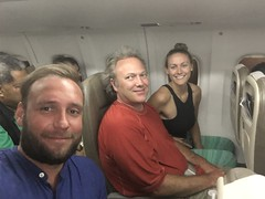 Me, Jordan and Cassie on our way back to Fiji!