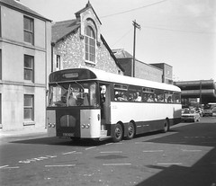 Brixham 1976 (Renown) Tags: buses bedford marshall val devon coaches brixham torbay singledecker twinsteer burtonsofbrixham burtonscoaches marshallofcambridge brixhamcoaches cod925c