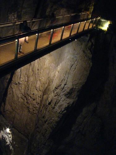 High bridge in Škocjanske caves, Slovenia