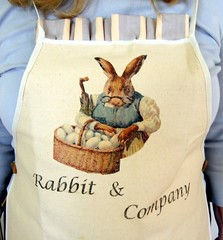 Mrs. Rabbit Apron - by beaurabbit
