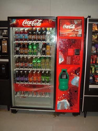 how does a soda machine work