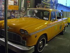 Viejo taxi checker