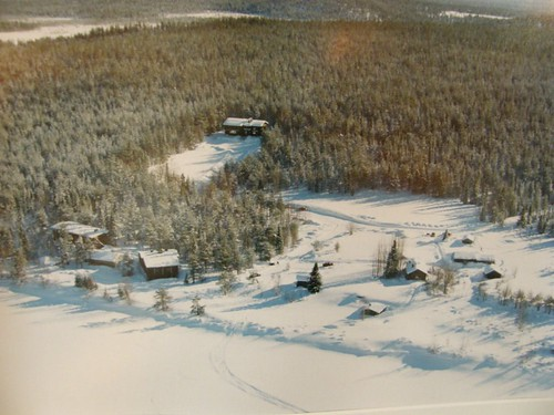 Photo of an aerial photo of the area