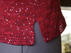 Sahara, crochet detail