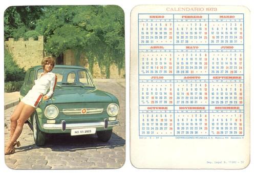 Calendario 1973.Calendario 1973 A Photo On Flickriver