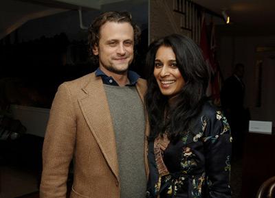 Foto de David Moscow con Anna George (Farruquito)