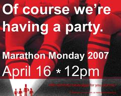 Invite: Marathon Monday 2007