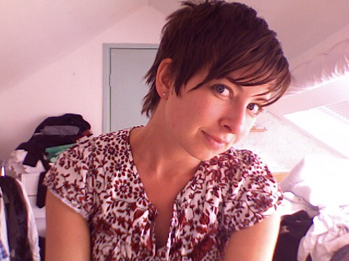 Funky Pixie Hairstyles For Older Women Pixie Cut With RED And Shine.