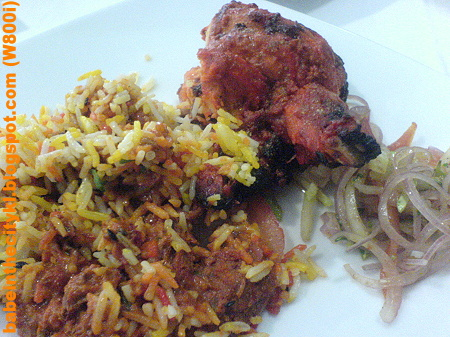 Aryan - mutton briyani n tandoori chicken