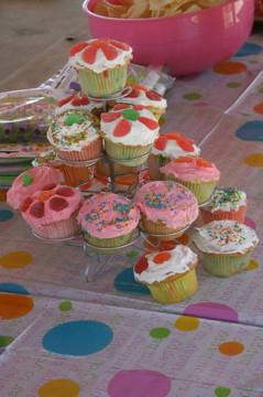 Macy's Birthday Cupcakes