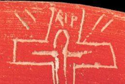 Detalle del rip de iruña, en color