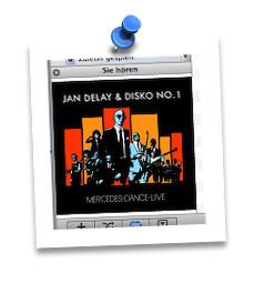 Listening to Jan Delay!
