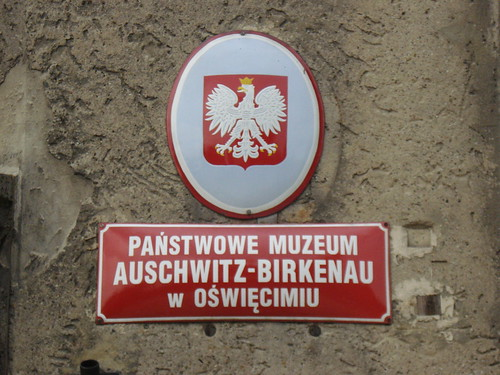 Auschwitz. Poland. The former German Concentration Camp.