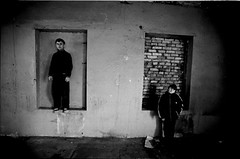 Gaping Void (Levan Kakabadze) Tags: windows bw film 35mm chaos searchthebest bricks nikonfm10 disorder locked balanced batumi tabu thankyouall adjara allrightsreserved   ajaria artlibre postcommunistdreamers 1yearinphotographyenjoyed paintersdream limitedwords levankakabadze