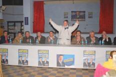 Juan Schiaretti junto a Referentes del Partido Justicialista (Gentileza Foto