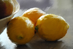lemons (Magda'70) Tags: art digital painting creative lemons digitalpainting stillife 2007 artforart anawesomeshot zymon