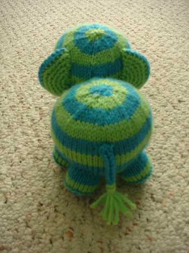 Knit Elephant Pattern