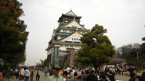 小時候的大阪城天守閣不是這樣的