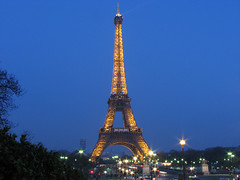 eiffel tower at night 1
