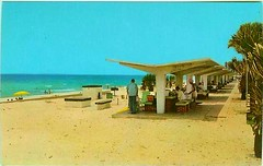 Wayside Park at Panama City Beach, Florida 1960's postcard (stevesobczuk) Tags: