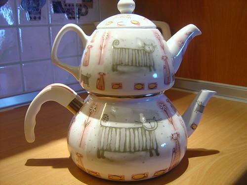 tedili süpriz çaydanlık