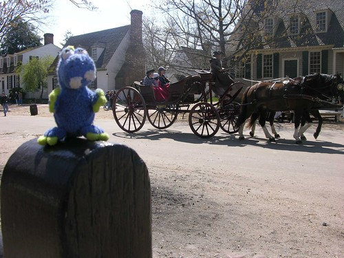 Deano in Colonial Williamsburg