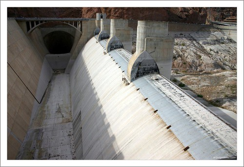 Spillway at Hoover Dam