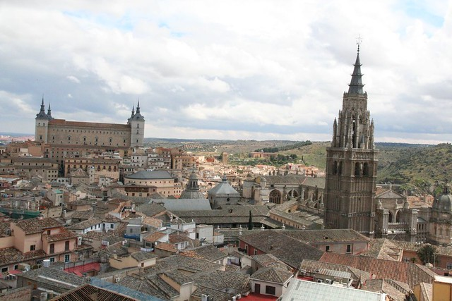 alcazar and cathedral of toledo