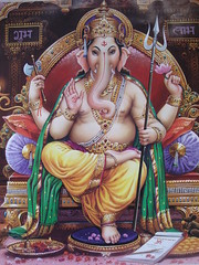 god ganesh (jk10976) Tags: nepal portrait asia god goddess ganesh kathmandu shield soe excellence of anawesomeshot travelerphotos jk10976 jkjk976 thegoddessfactory