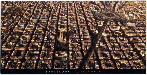 Barcelona airview