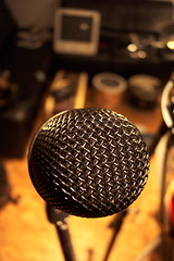 The Microphone._.`._.._.) (Tomitheos) Tags: toronto ontario canada macro rock acdc radio grid focus flickr rockstar bokeh song may jazz voice capsule daily calibration stereo musical sphere si