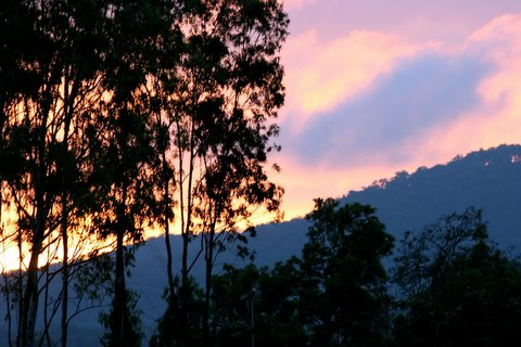 Sunset in Bandipur