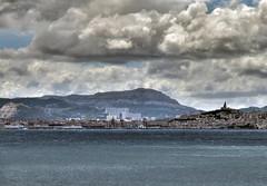 Marseille ! (Lolo_) Tags: sea mer clouds port harbor major marseille notre dame nuages hdr garde magnifique méditerranée estaque bonnemère francelandscapes