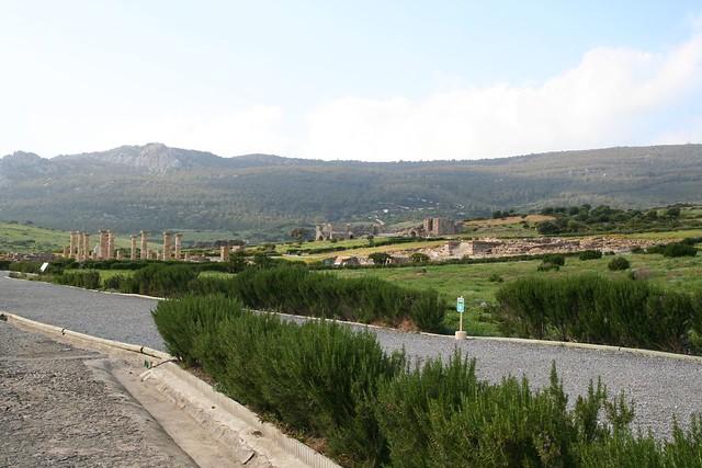 roman ruins at bolonia