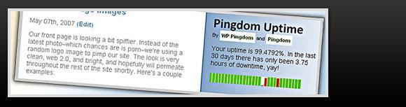 WP Pingdom