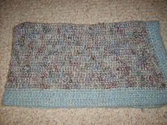 Snuggles Blanket 2 - Repurposed Yarn