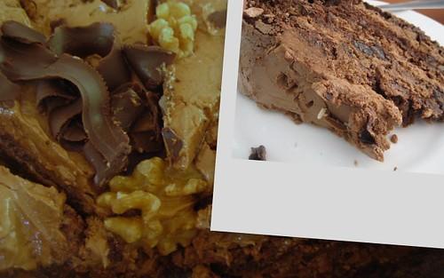 date & walnut dacquoise