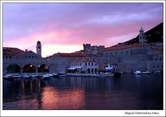 Sunset in Dubrovnik (felber) Tags: sunset summer europa europe mediterranean may croatia lila unesco magical croazia dubrovnik soe oldcity croacia adriatic 2007 adria croatie jadran dalmatia kroatien mditerrane felber mediteran 25faves 5for2 anawesomeshot holidaysvacanzeurlaub travelerphotos ysplix