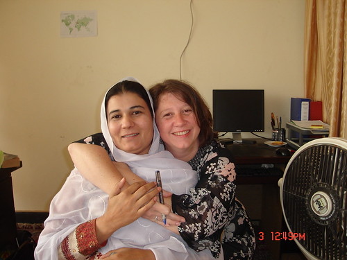Afghan & American women = friends