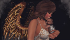*Angels come in all sizes, no matter how small, they still count* () Tags: angel baby wings people sl secondlife female