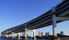 TOKYO RAINBOW BRIDGE (patrick555666751) Tags: tokyo sumida river bridge riviere ponts pont bridges puente puentes tokyosumidariverbridge nihon nippon cipango jipangu japao giappone japo edo kanto honshu yokyo tokio toquio east asia asie est japan japon rainbow brucke