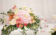aranjamente florale hortensie roz pal si trandafiri (IssaEvents) Tags: decoratiuni nunta aranjamente decor sala slatina gradiste hill nunti wedding weddings issamariage issaevents sfesnice hortensia hortensii valcea