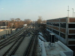 View South from Howard Station