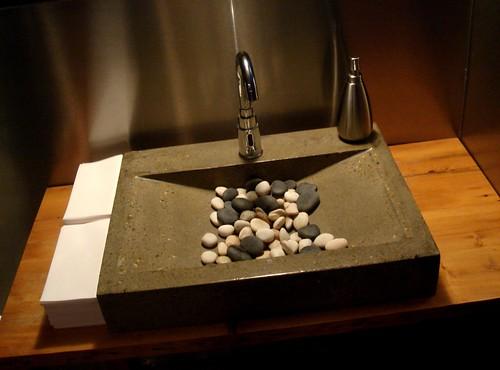 A strange sink